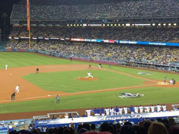 Dodger Stadium, section: 137lg, row: P, seat: 8