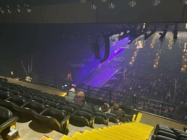 Royal Farms Arena, section: 309, row: K, seat: 17