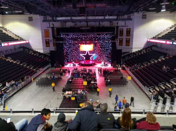 UMBC Event Center, section: 200, row: E, seat: 10