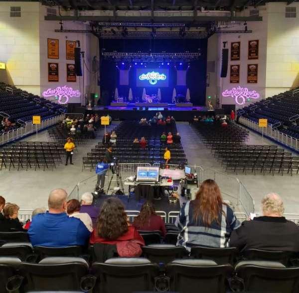 UMBC Event Center, section: 100, row: M, seat: 11