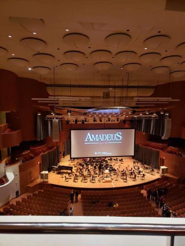 Joseph Meyerhoff Symphony Hall, section: Terrace Center Left, row: A, seat: 121