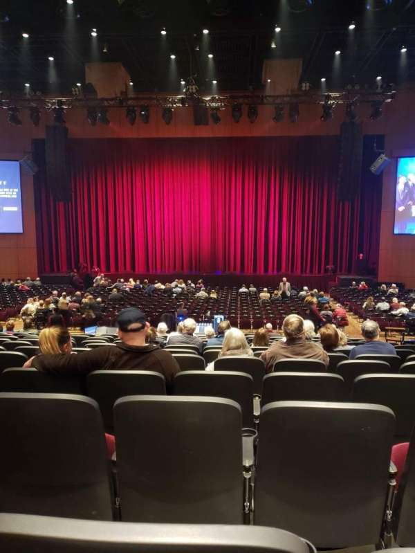 The Theater at MGM National Harbor, section: 103, row: P, seat: 6