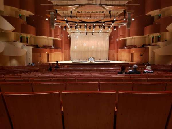 Joseph Meyerhoff Symphony Hall, section: Center Orchestra, row: HH, seat: 108