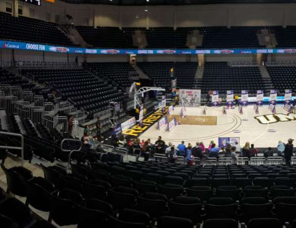 UMBC Event Center, section: 106, row: M , seat: 14