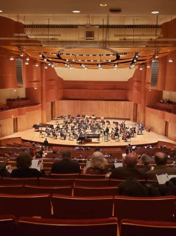Joseph Meyerhoff Symphony Hall, section: Grand Tier Center RIght, row: J, seat: 108