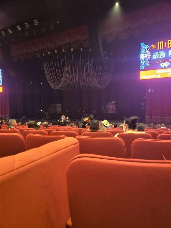 Grand Sierra Theatre, section: OR, row: P, seat: 11