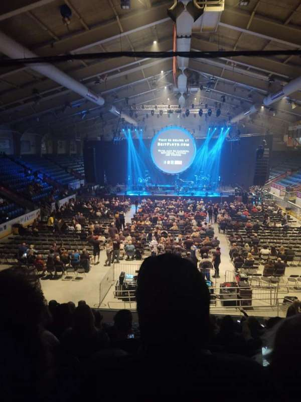 1st Summit Arena, section: 20, row: N, seat: 14