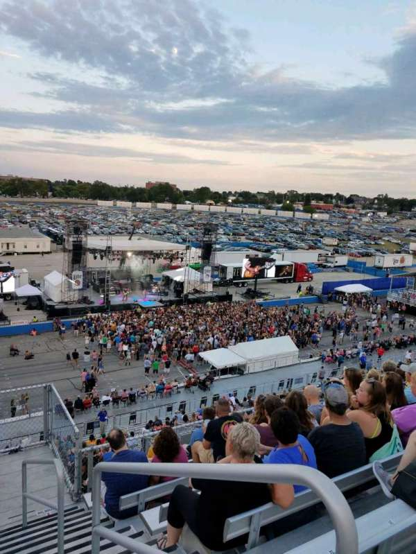Wisconsin State Fair, section: 307, row: 26, seat: 1
