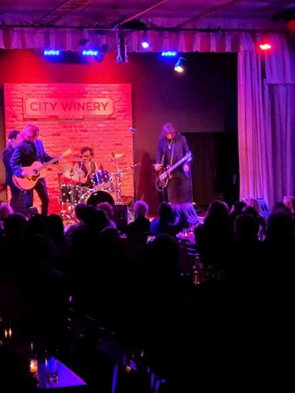 City Winery, section: VIP, seat: 510