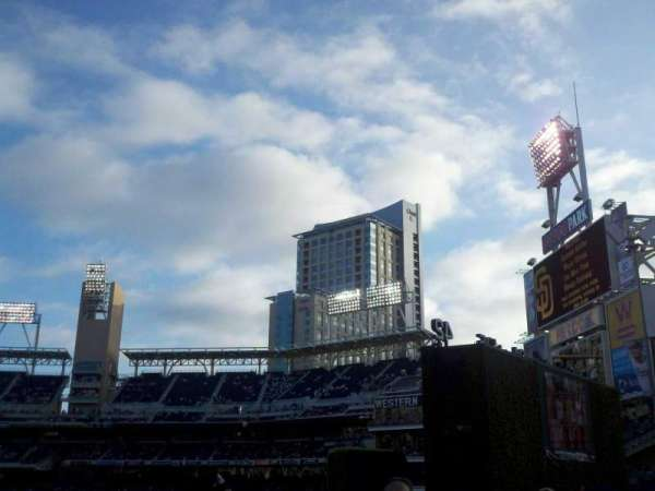 PETCO Park, section: bleachers