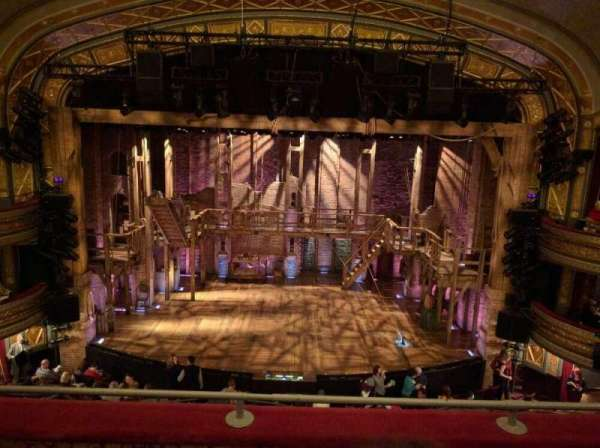 Richard Rodgers Theatre, section: Mezzanine C, row: C, seat: 107