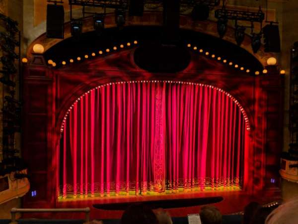 Shubert Theatre, section: Mezzanine C, row: D, seat: 114