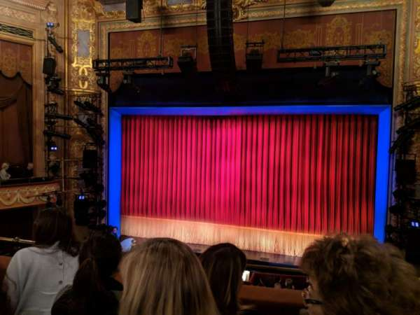 Longacre Theatre, section: Mezzanine C, row: C, seat: 101