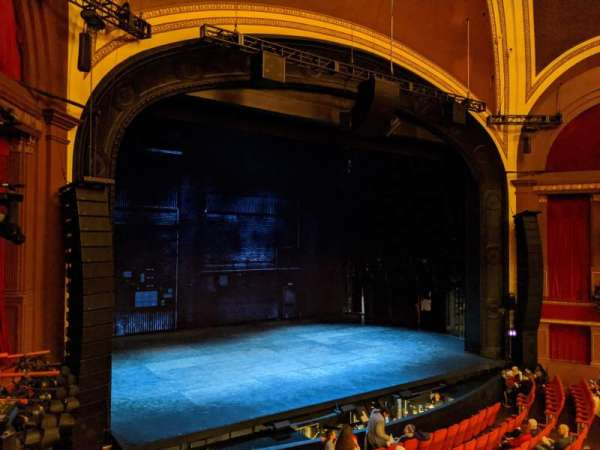 Broadway Theatre - 53rd Street, section: Front Mezzanine L, row: A, seat: 10