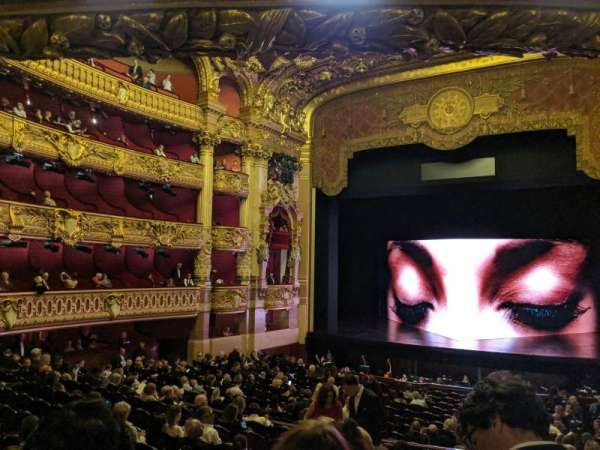 Opera Garnier Paris, section: 32-36, row: 3, seat: 20