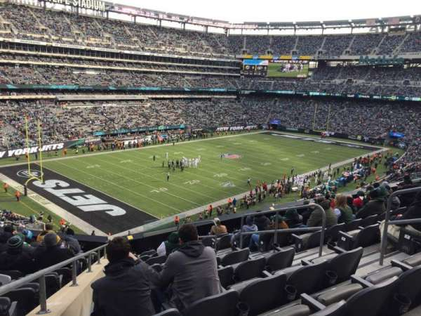 MetLife Stadium, section: 245C, row: 10, seat: 7