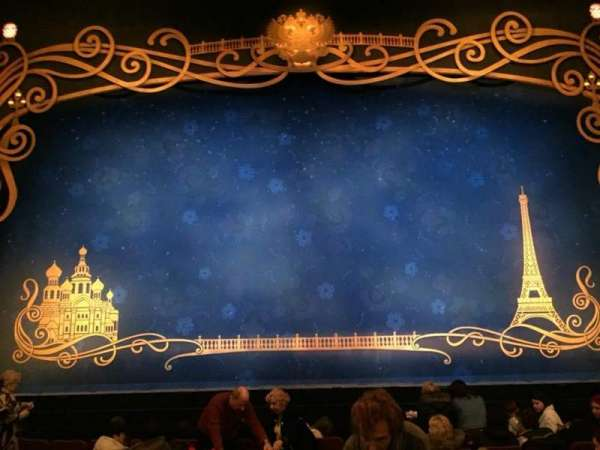 Broadhurst Theatre, section: Orchestra C, row: J, seat: 108