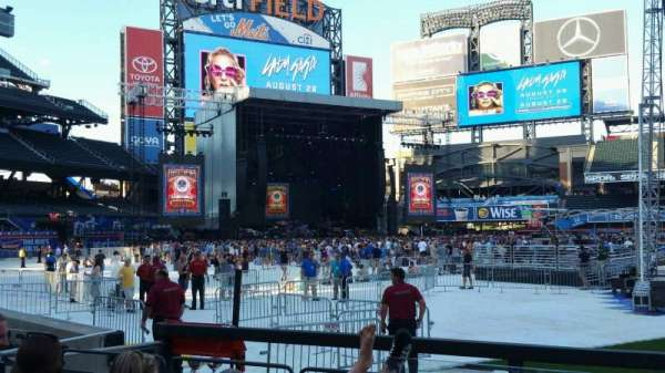 Citi Field, section: 123, row: 4, seat: 16