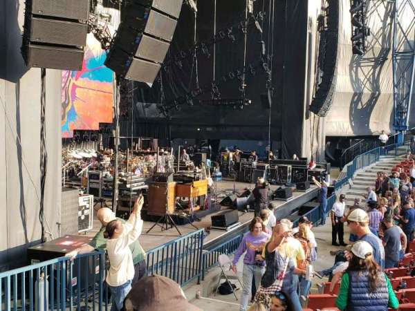 Shoreline Amphitheatre, section: 103, row: I, seat: 26