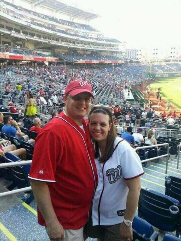Nationals Park, section: 129, row: Y, seat: 18