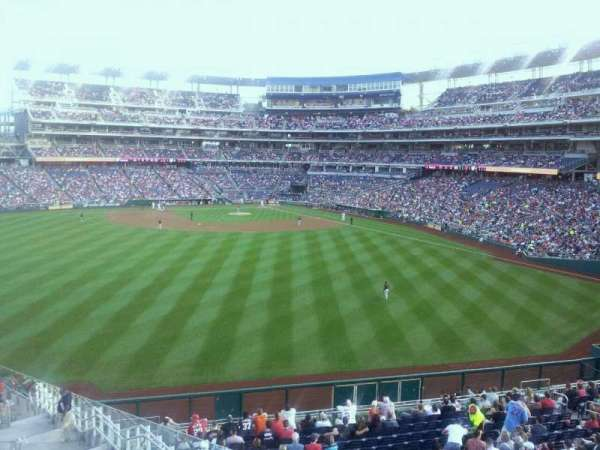 Nationals Park, section: Centerfield Bar