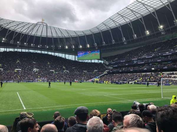 White Hart Lane, section: 114, row: 6, seat: 413