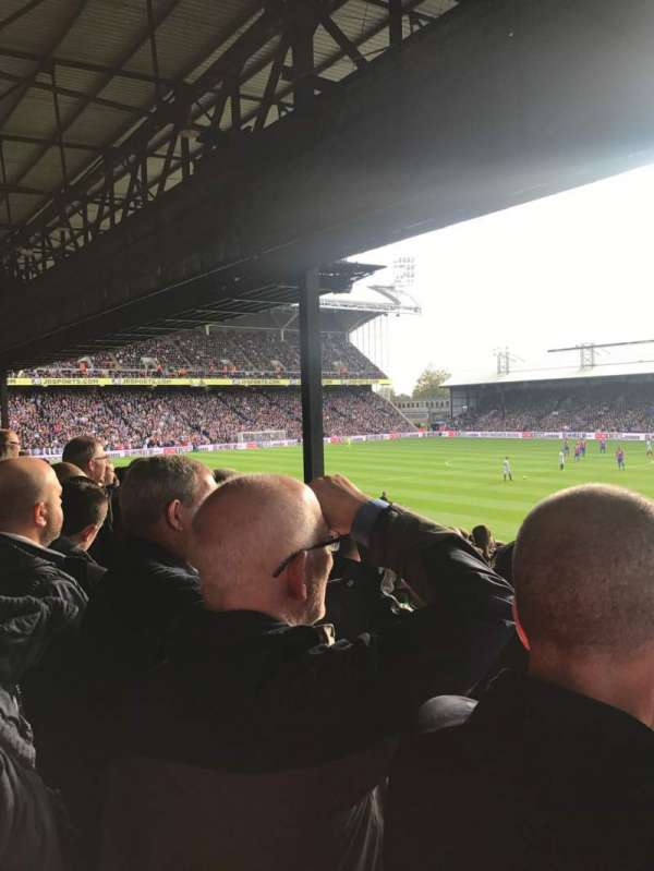 Selhurst Park, section: S, row: 23, seat: 54