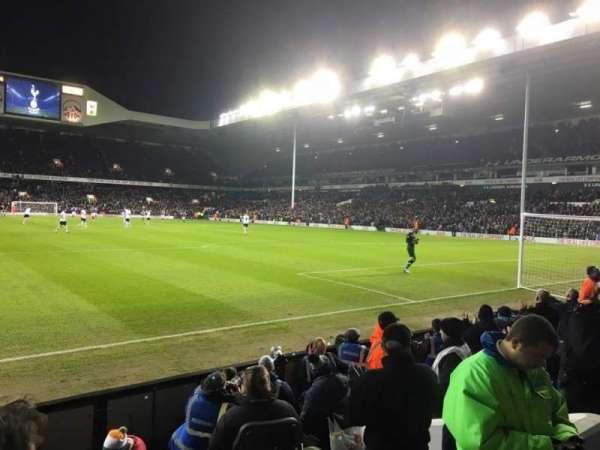 White Hart Lane, section: 36, row: 7, seat: 137