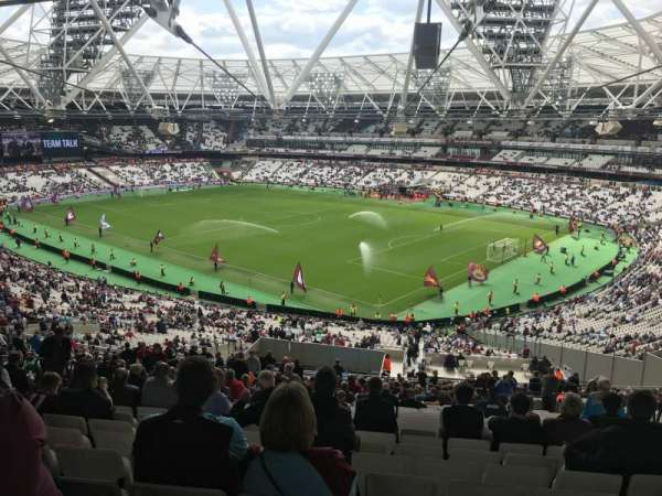 London Stadium, section: 243, row: 62, seat: 127