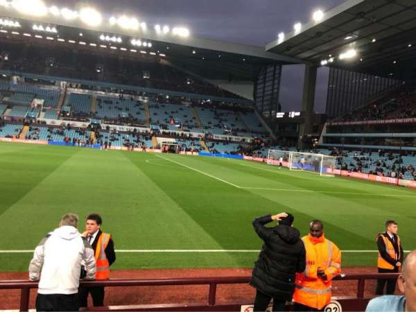 Villa Park, section: Q3, row: E, seat: 53