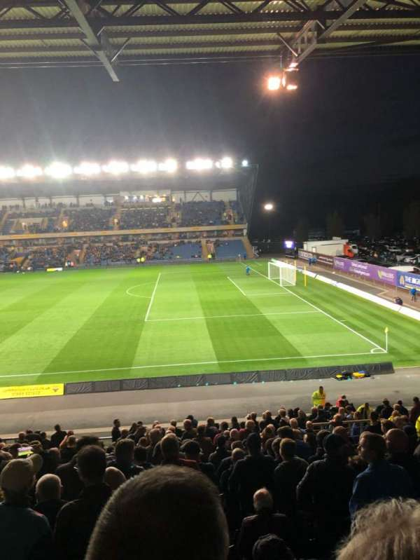 Kassam Stadium, section: 28, row: X, seat: 183