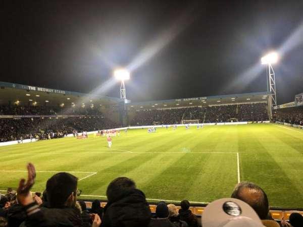 Priestfield Stadium, section: 2, row: N, seat: 21
