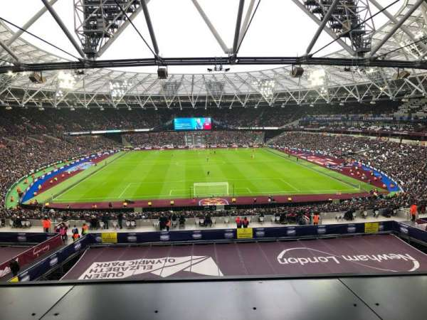 London Stadium, section: 250, row: 49, seat: 08