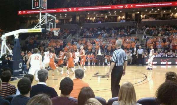 John Paul Jones Arena, section: 114, row: C, seat: 5
