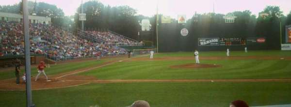 Hadlock Field, section: 102, row: K, seat: 7