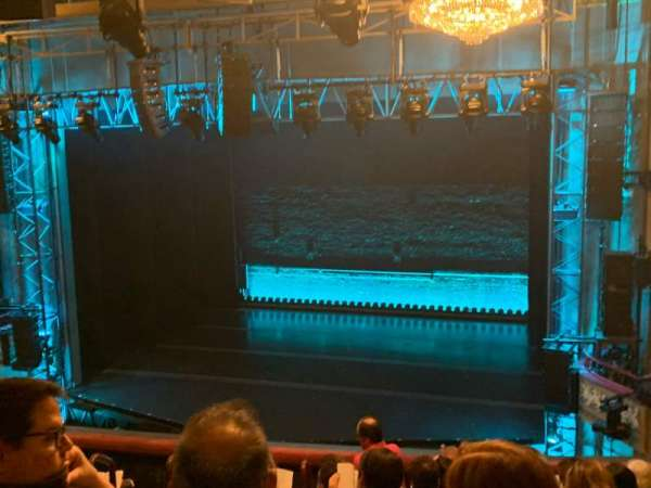 Broadhurst Theatre, section: Mezzanine R, row: H, seat: 6