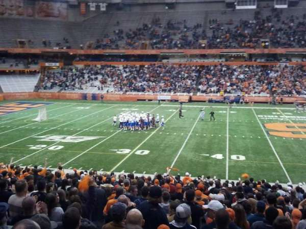 Carrier Dome, section: 116, row: z, seat: 115