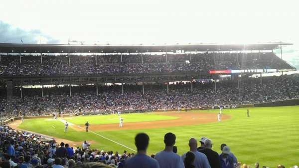 Wrigley Field, section: 232, row: 2, seat: 11