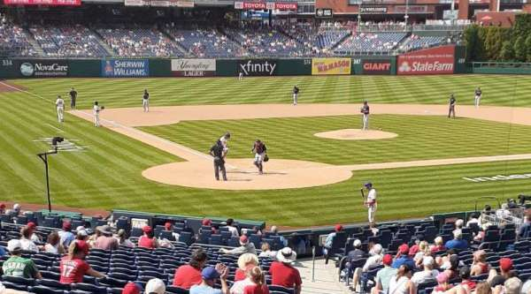 Citizens Bank Park, section: 122, row: 27, seat: 1