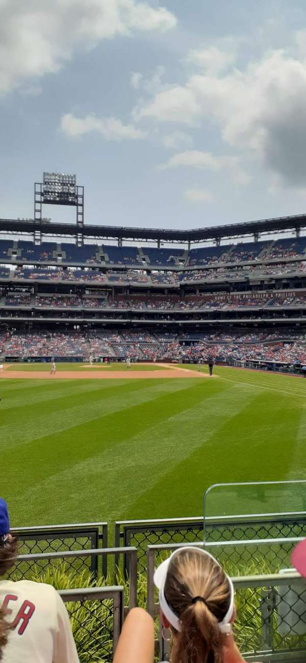 Citizens Bank Park, section: 143, row: 3, seat: 2