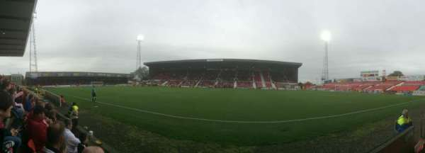 County Ground, section: Don Rogers Stand