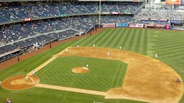 Yankee Stadium, section: 316, row: 1, seat: 8