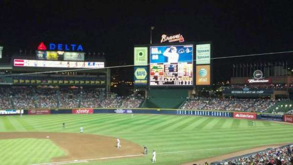Turner Field, section: 207, row: 9, seat: 12
