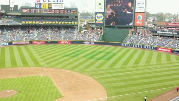 Turner Field, section: 409, row: 1, seat: 7