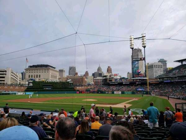 Comerica Park, section: 130, row: 20, seat: 6