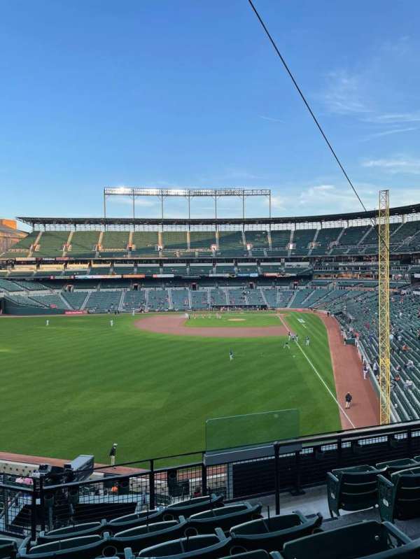 Oriole park at Camden yards, section: 280, row: 6, seat: 2