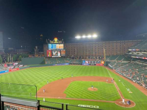 Oriole Park at Camden Yards, section: 350, row: 3, seat: 7
