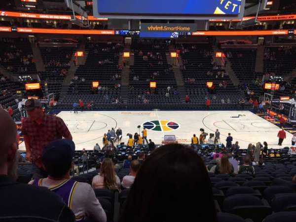 Vivint Smart Home Arena, section: 7, row: 22, seat: 15