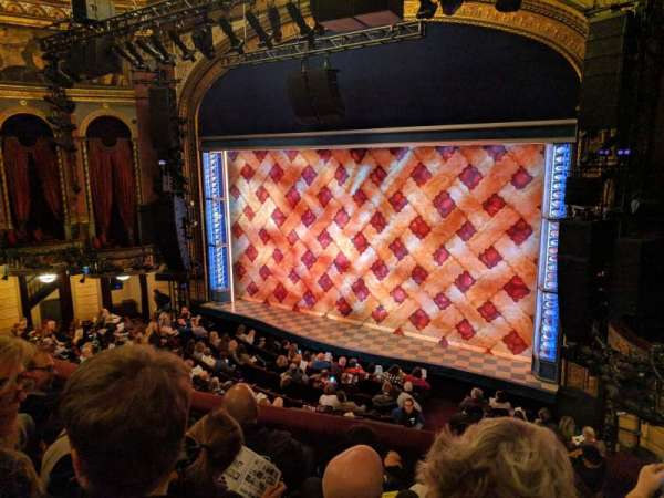 Brooks Atkinson Theatre, section: Front Mezzanine R, row: D, seat: 16