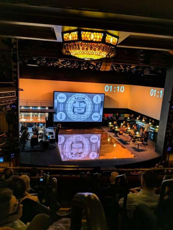 Belasco Theatre, section: Mezzanine L, row: f, seat: 1